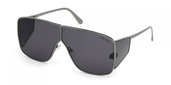 TOM Ford FT0708 Spector 08A Shiny Anthracite