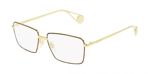 Gucci GG0439O 008 GOLD-GOLD-TRANSPARENT